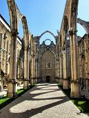 Carmo convent church ruins