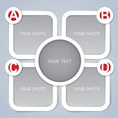 ABCD Progress labels in white