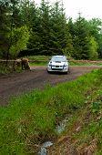 S. Cullen Driving Subaru Impreza