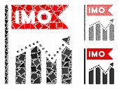 Imo Chart Trend Mosaic Of Abrupt Items In Various Sizes And Shades, Based On Imo Chart Trend Icon. V poster