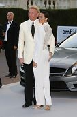 ANTIBES  - MAY 24: Boris Becker, Lilly Becker at the 2012 amfAR's Cinema Against AIDS at Hotel Du Ca