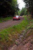 I. Chadwick Driving Subaru Impreza