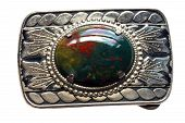 Bloodstone Belt Buckle