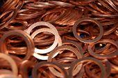 Copper Retainer Rings