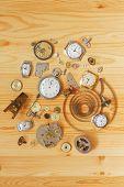 Broken Mechanical Clocks