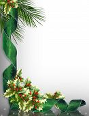 foto of christmas ornament  - Image and digital illustration composition for Christmas card or background - JPG