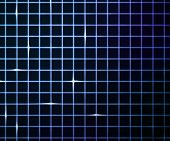 Blue Laser Light Grid Background