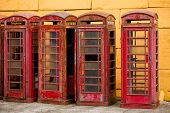Old Phone Booths