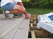 Measuring Boards For A New Pool Deck