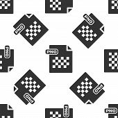 Grey Png File Document. Download Png Button Icon Isolated Seamless Pattern On White Background. Png  poster