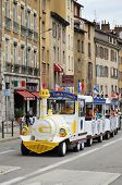 Sightseeing Streetcar In Grenoble