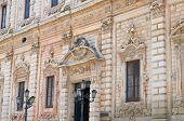 Celestine's palace. Lecce. Puglia. Italy.
