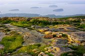 Porcupine Islands from Cadillac Mountain