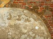 Old Brick Wall. Arc