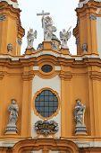 Melk-Klosterkirche-Informationen in Niederösterreich.