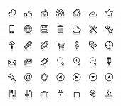 Sociale Web Icons