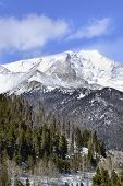 Rocky Mountain National Park Snow Capped Mountains above the Treeline