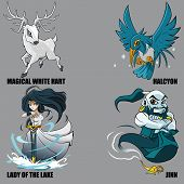 Mythical Creatures Set 18