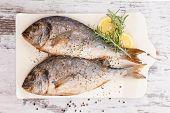 Meeresfrüchte, luxuriösen mediterranen Stil.