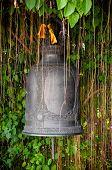 Detail Of The Bell At Golden Mount (wat Sutep), Bangkok