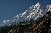 stock photo of karakoram  - Rakaposhi 7788m - JPG