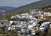 A little Moorish village in the Alpujarra