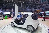 Genebra - 8 de março: O Tata Pixel em exposição no 81o International Motor Show Palexpo-Genebra em M
