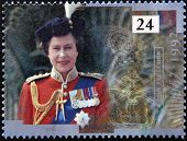 40th anniversary of accession to the throne shows Queen Elizabeth II
