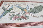 Mosaic work at Khao Takiab Temple