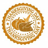 Thanksgiving Day Stamp