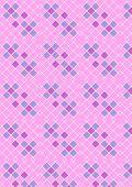 Crimson pink checkered background
