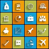Office and Business Vector Flat Icons