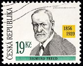 Sigmund Freud Stamp