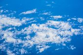 Blue Sky And Clouds Xxl