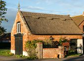 Thatched Garage