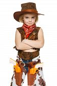 Little girl cowboy