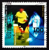 Postage Stamp Germany 1996 Borussia Dortmund, Champion