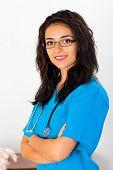 Medical Nurse Portrait