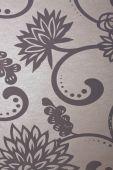 Floral Metallic Background