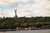 Mother Of The Motherland Monument In Kiev, Ukraine