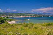 Posedarje Bay And Velebit Mountain