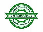 Quality guaranteed natural