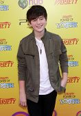 LOS ANGELES - OCT 21:  GREYSON CHANCE arrives to the Variety's Power of Youth  on October 21, 2011 i