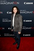 NEW YORK- OCT 24: Actor Luke Arnold attends the premiere of Canon's 'Project Imaginat10n' Film Festi