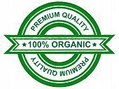 Premium quality organic