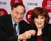 LOS ANGELES - APR 10:  Richard Sherman, Maureen O'Hara at the