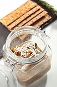 Pate with Crispbreads and Rosemary
