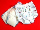 Potty Pants & Diaper