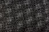 Closeup Of Dark Fabric Showing Coarse Texture