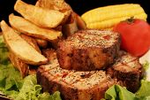 Grilled Pepper Steaks